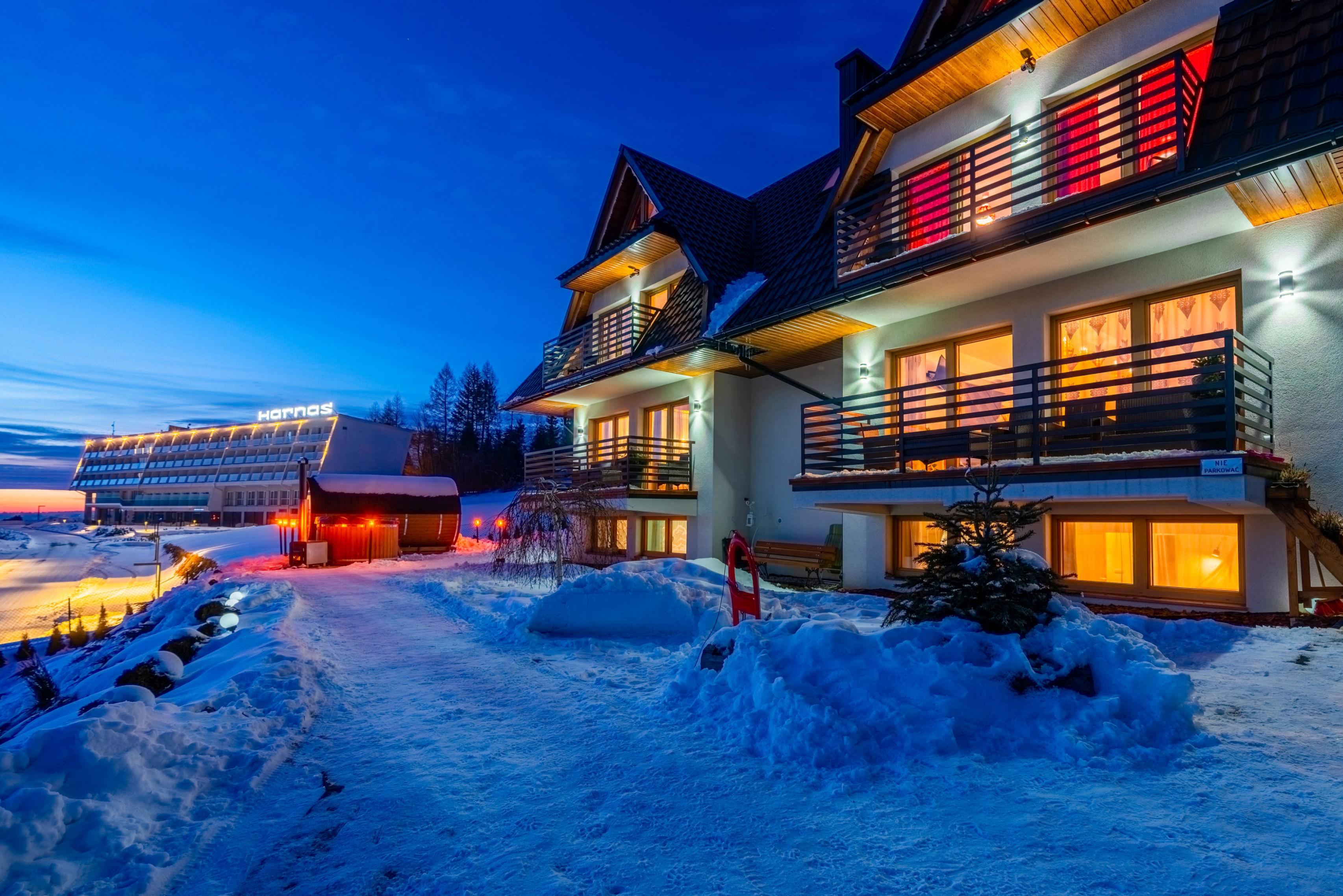 Apartamenty Bukowina Tatrza艅ska tybet zima